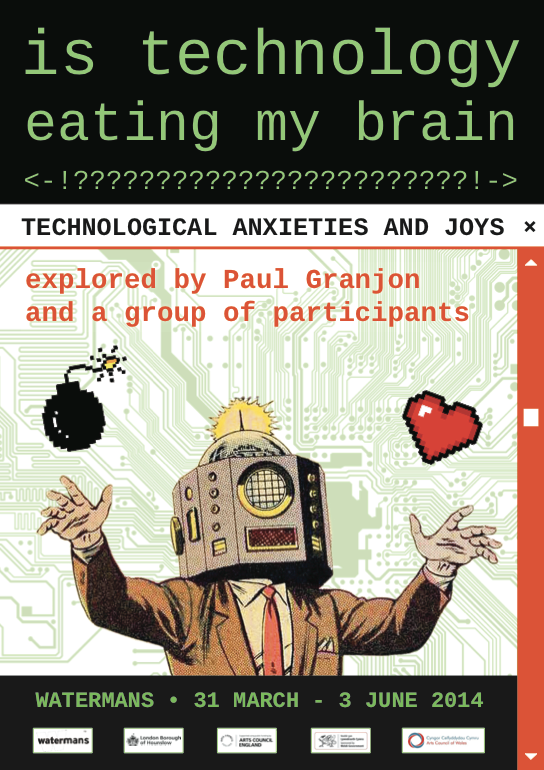 Is Technology Eating My Brain? poster