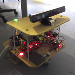 Toothless prototype with Kinect sensor