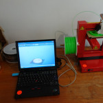 3D printing station
