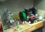 Rep Raps 3D printers in Refab Space