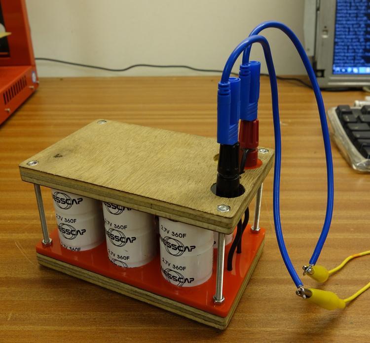Supercapacitor + Raspberry Pi | Paul Granjon - zprod