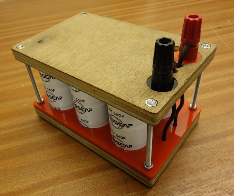 Super capacitor battery, 8V 120 Farad