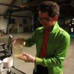 Mixing sulphuric acid