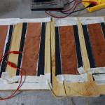 Sandwich-style DIY supercapacitors