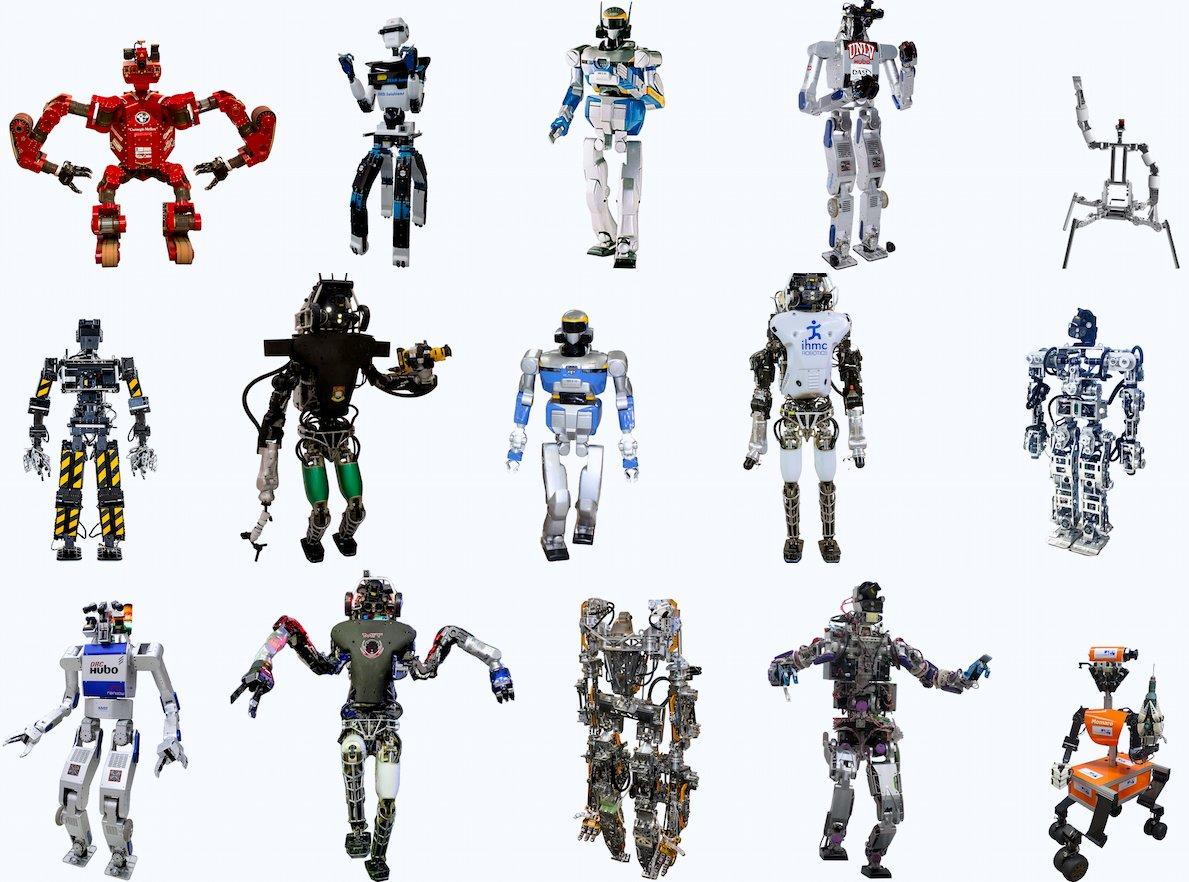 Darpa Robotics Challenge finalist, June 2015